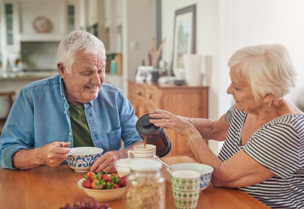 Seniorenfrühstück