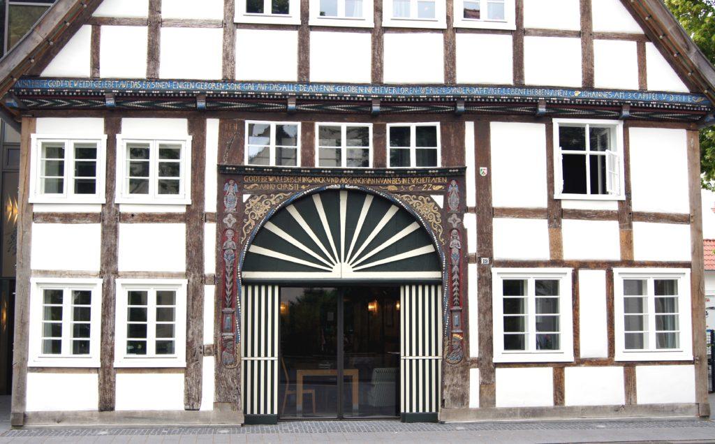 Pflegeheim Kreis Gütersloh - Der Elsbeerenhof Rheda-Wiedenbrück Haus Eingang 2